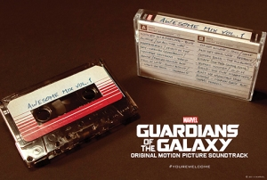 guardiani della galassia musicassetta